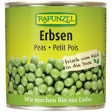 Canned peas 820gr.