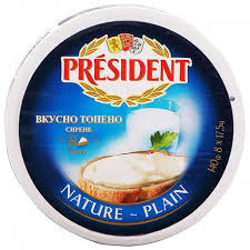 President nature - plain 140gr.