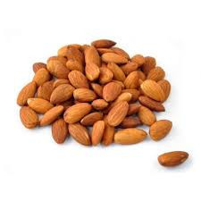 Raw almonds 90gr.