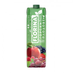 Mixed berries juice Florina 1l.