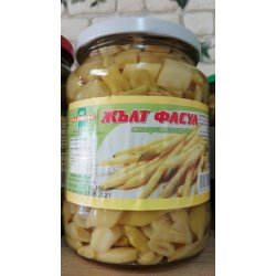 Canned yellow beans 680gr.