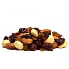 Mixed nuts and dried blueberries 180gr.