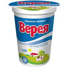 Bulgarian yogurt 4.5% fat 400gr.