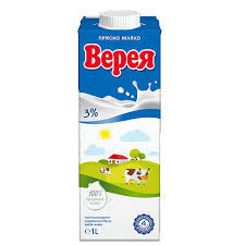 Мляко прясно 3% 1л.