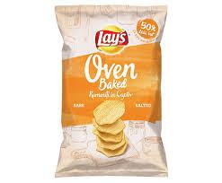 Печен чипс Lay's Сол 125 г.
