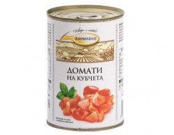 Домати консерва КУБЧЕТА ФАМИЛЕКС 400g