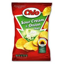 Чио чипс смет. и лук 65 г