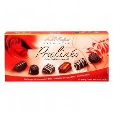 Шоколадови бонбони колекция Пралини 400г.