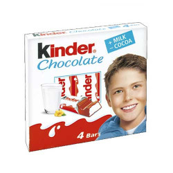 Киндер шоколад 4бр. 50гр.