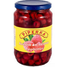 Canned raspberries 680gr.