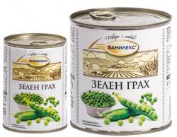 Грах консерва ФАМИЛЕКС 400g