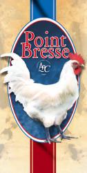 Пиле Френска порода La poulet de Bresse със сини крака