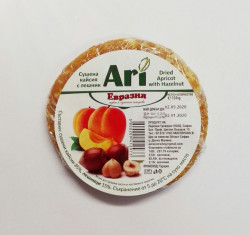 Dried apricot with hazelnut 130gr.