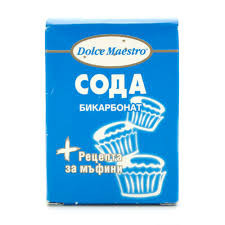 Сода бикарбонат Dolce кутия 100гр