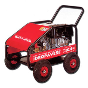 IDROPAVESE PETROL MACHINE - echipament de spalat cu presiune apa rece spalatorie auto