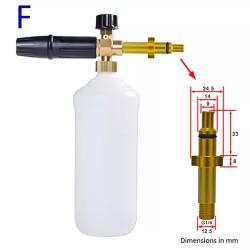 Lance spumare pentru aparate de spalat cu presiune Heinner