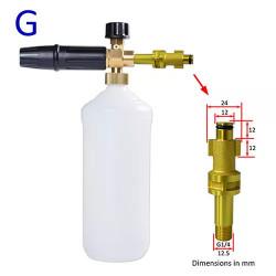 Lance spumare pentru aparate de spalat cu presiune KraftDele