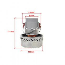 Motor Aspirator Profesional - spalatorie auto (bistadiu, dubla turbina )