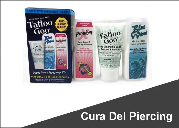 Cura Del Piercing
