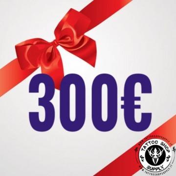 Gift Card 300Euro