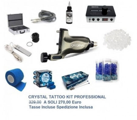 Kit Crystal Tattoo Professional