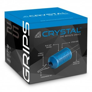 CRYSTAL Grip Monouso In Silicone 11FT 30mm 15PZ