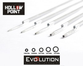 Aghi Evolution Hollow Point Con Microforo 15RL 0.30mm