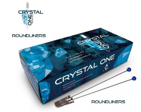 Crystal - 5 Round Liners 0,25mm