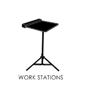 Workstation tavolino da lavoro