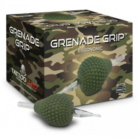 Crystal Grenade Grip monouso silicone 13ROUND 15PZ