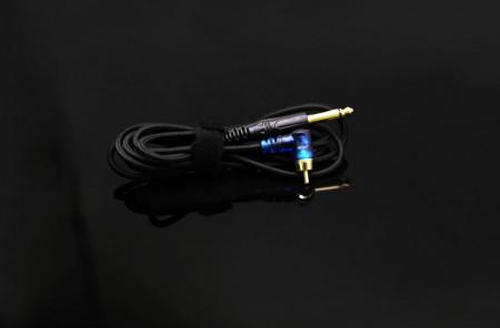 CAVO CON CLIP RCA A LED SNAKEKING Nero