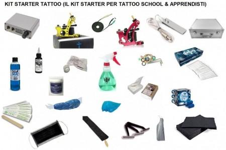Kit Starter Tattoo Per Corsisti & Apprendisti #6