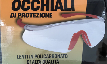 Occhialini di protezione di alta qualità in policarbonato Golmar