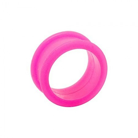 Tunnel in silicone Rosa 16mm
