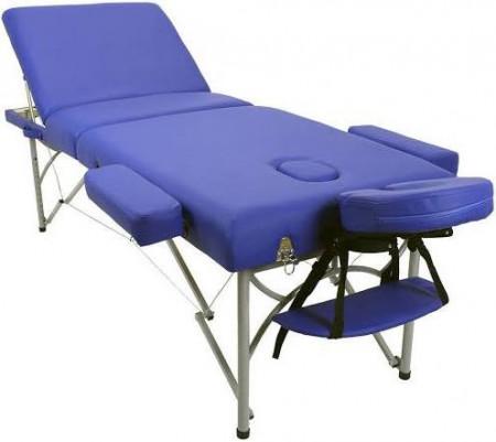 Lettino Massaggio 3 Zone Colore Blu