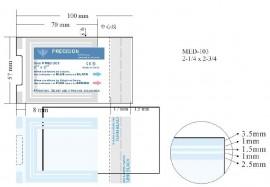 Bustine sterilizzate autosigillanti (90mmx255mm)
