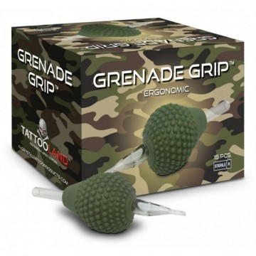 Crystal Grenade Grip monouso silicone 5FLAT 15PZ