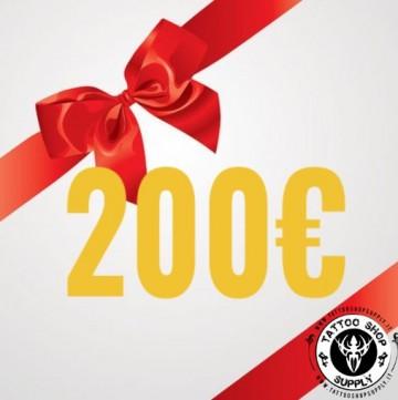 Gift Card 200Euro