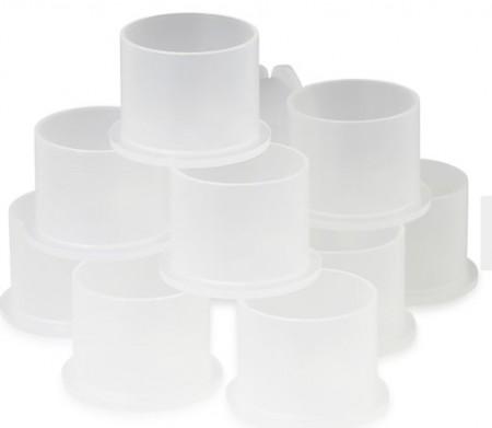 TATFORMANCE - Clear Iink Cups 9mm (500 pz)