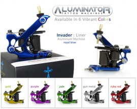 Tattoo Machine Series Liner-Shader Purple