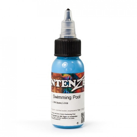 INTENZE TATTOO INK SWIMMING POOL 30 ML - BORIS FROM HUNGARY