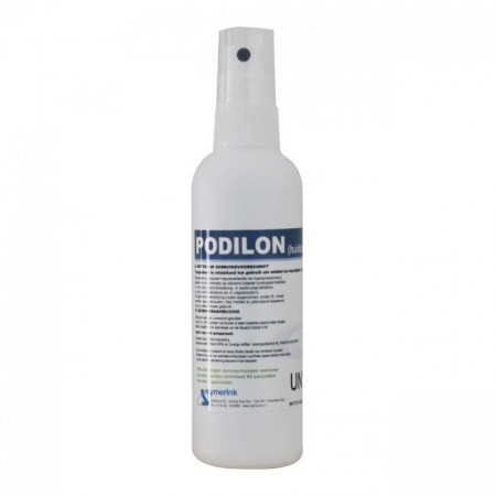 Spray Mani Alcol Podilon 100ml 80% Spray Flacone 1 pz