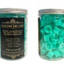 Cup In Silicone Aquamarine 100 Pz