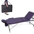 Lettino Massaggio in alluminio 3 Zone Colore Lillain (Costo unitario fisso 20,00 euro)