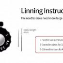 Rotativa Dark Horse Eccentrico Regolabile Liner/Shader
