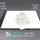 Lavagna Luminosa Led Pad A3 Tat Tech
