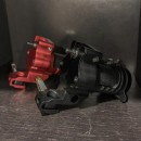 New Rotary Slider 8 system Cdx by Luca mamone Colore Red