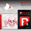 Replica Red Carta Stencil