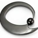 Blackout Evolution Captive Bead Ring