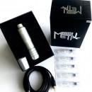 New Metal Brush Pen Light Silver